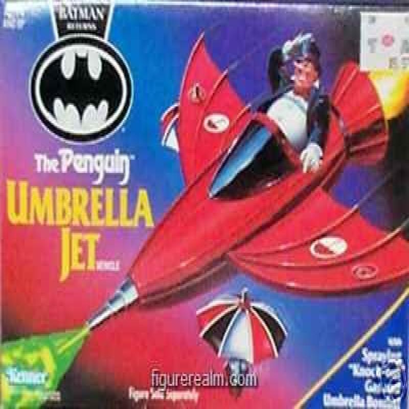 Batman Returns The Penguin Umbrella Jet by