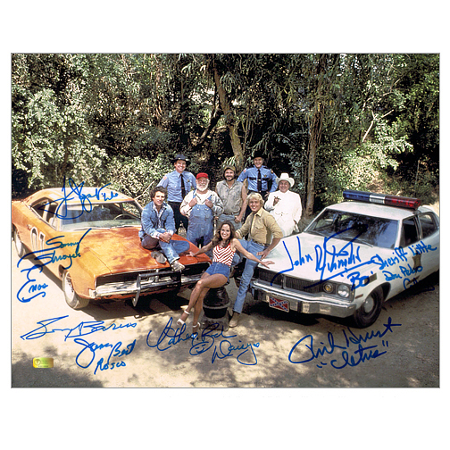 The Dukes of Hazzard Cast Autographed 11?14 Photo