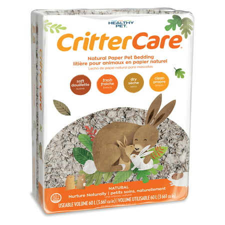 Healthy Pet CritterCare Paper Bedding, 60