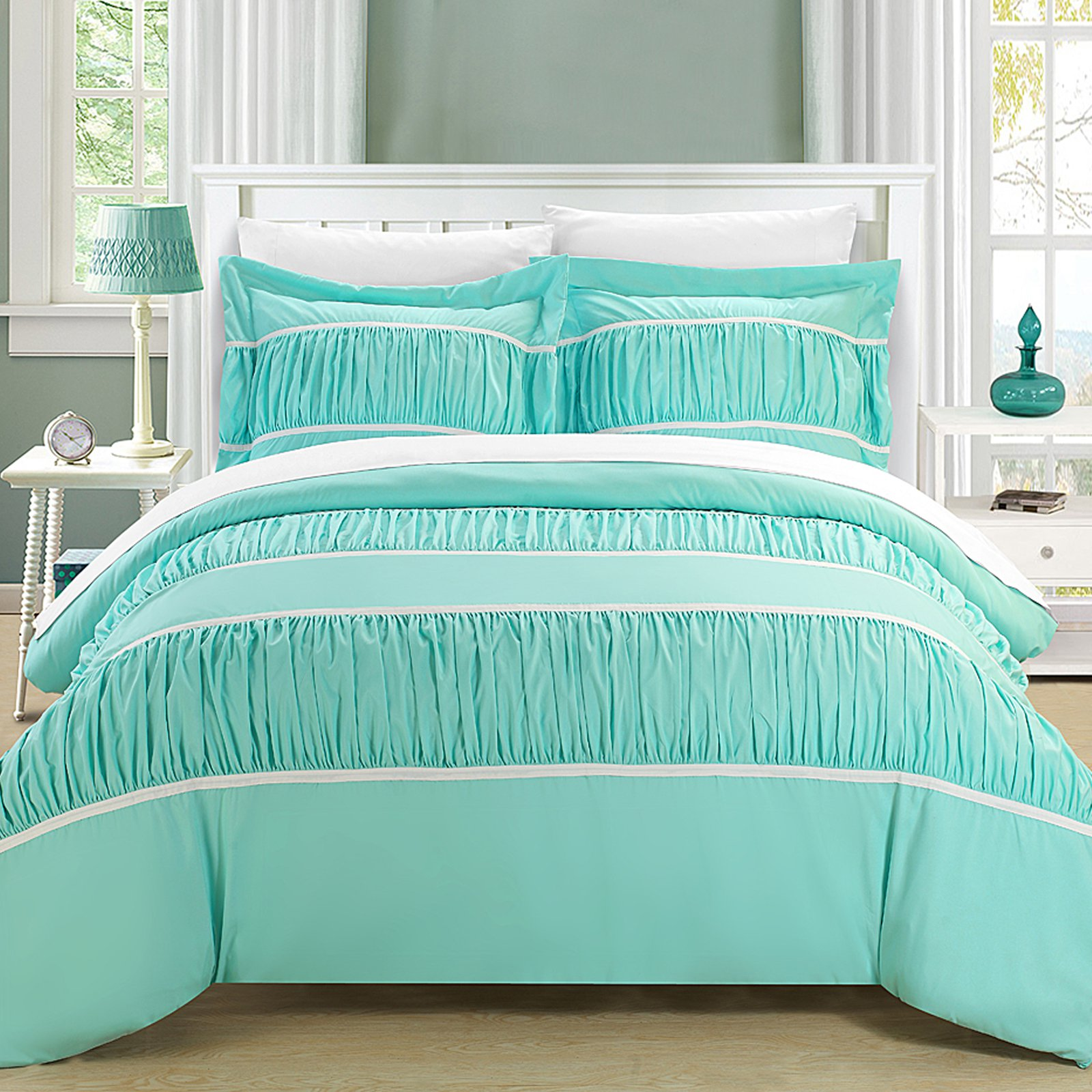 Chic Home Elizabeth 3-Piece Duvet Cover Set