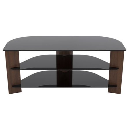 - AVF Varano TV Stand with Black Glass Shelves for TVs up to 55