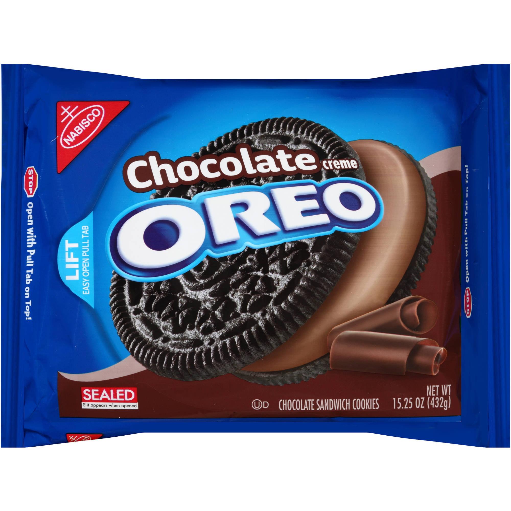 Nabisco Oreo Chocolate Creme Chocolate Sandwich Cookies, 15.25 oz