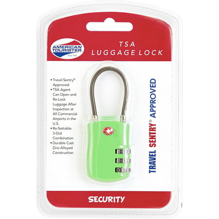 how to reset american tourister luggage combination lock