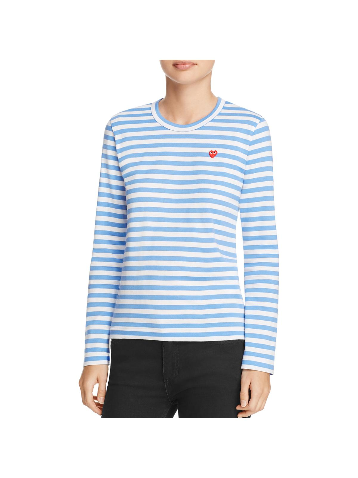 3fb8d66ca8e2 Comme Des Garcons - Comme des Garcons Womens Striped Long Sleeves Pullover  Top - Walmart.com