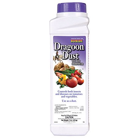 Bonide Chemical Number-1 Dragoon Dust Combo Copper Insecticide Fungicide