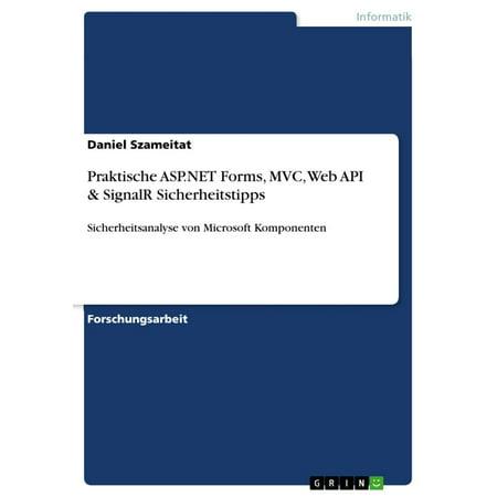 Praktische ASP.NET Forms, MVC, Web API & SignalR Sicherheitstipps -