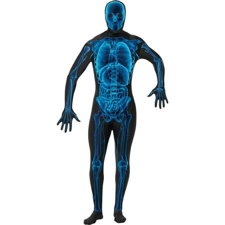Morris Costumes X Ray Skin Suit Adult Medium](Rap Costume)
