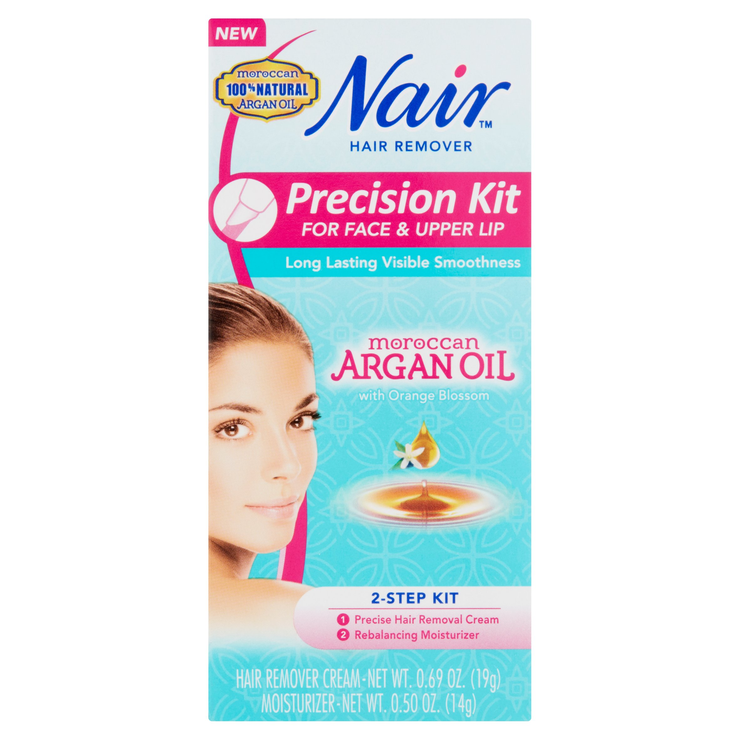 Nair Precision Kit For Face Upper Lip Hair Remover Walmart Com