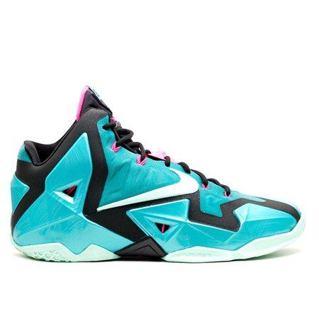 wholesale dealer 3abef 51663 Nike - Men - Lebron 11  South Beach  - 616175-330 - Size ...