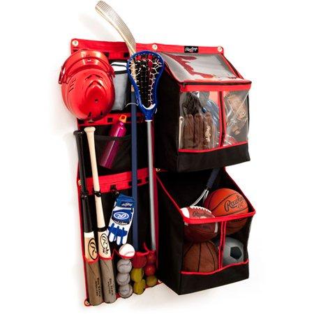 Rawlings Ultimate Flexible Sports Organizer Storage Bags Club Pack,