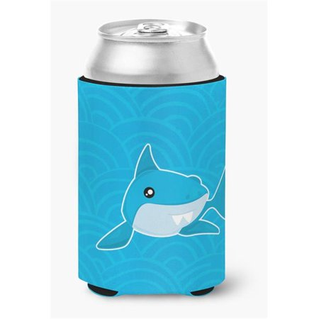 Carolines Treasures BB6943CC Shark with Waves Can or Bottle Hugger - image 1 de 1