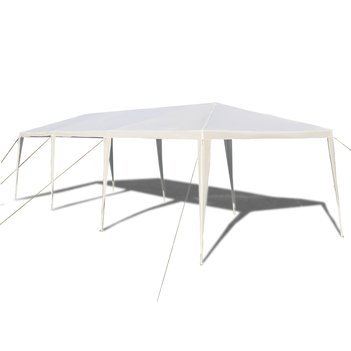 Gymax White Wedding Tent 10'x30'Outdoor Party Canopy Events - image 6 of 10