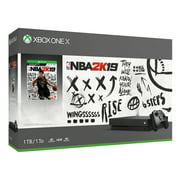 Microsoft Xbox One X 1TB NBA 2K19 Bundle, Black, CYV-00070