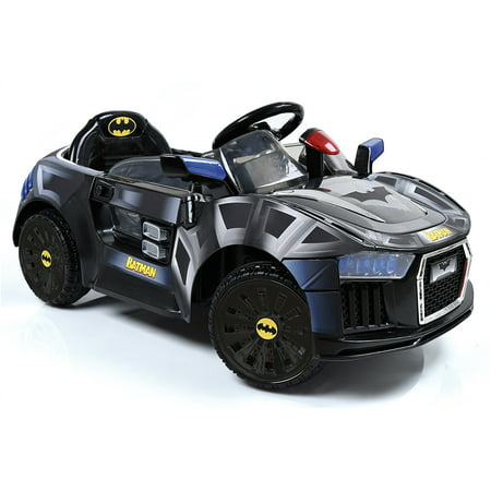 Hauck Batmobile 6V Battery Powered Electric Ride-On Sports Car (Batman) (Kids Batmobile Car)