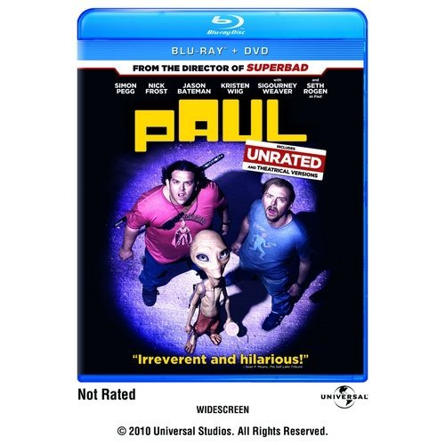 Paul (Rated/Unrated) (Blu-ray + DVD) (Widescreen)