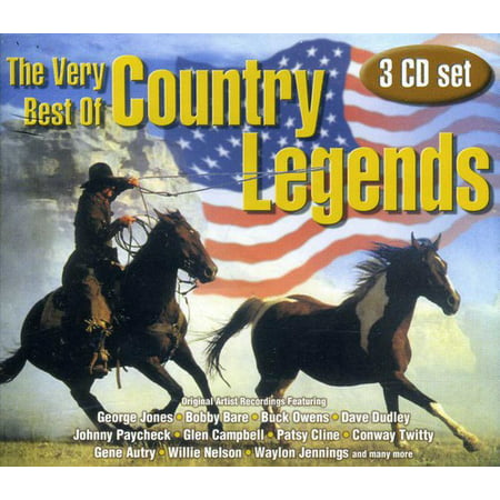 Very Best of Country Legends (CD) (Best American Country Singers)