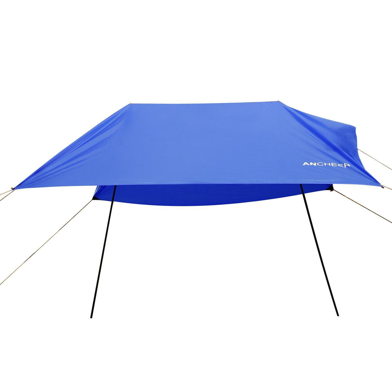 Lightweight Beach Tent Portable Outdoor Canopy SunShade Sun Shelter Folding shelter 9.8 x 9.8