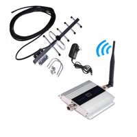Mobile Phone GSM Signal Booster GSM Signal Repeater Cell Phone GSM 900MHz Signal Amplifier with LCD Display Yagi Set