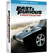 Fast & Furious: 8-Movie Collection (Blu-ray + Digital HD) by