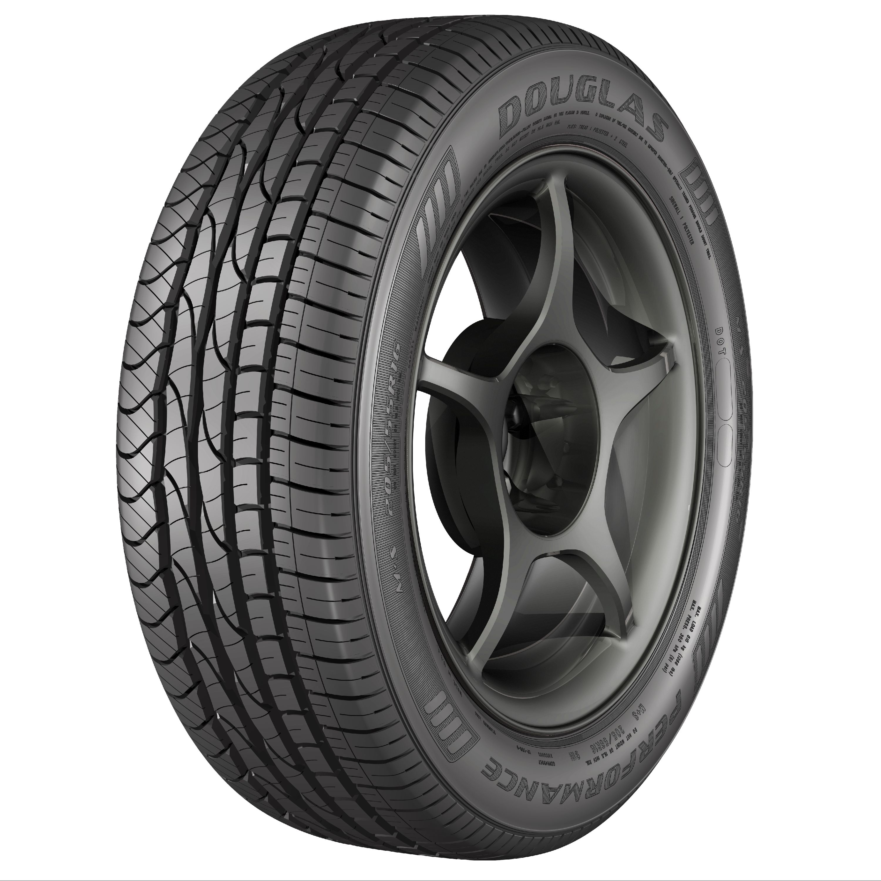 Douglas Performance Tire 215/55R17 94V SL