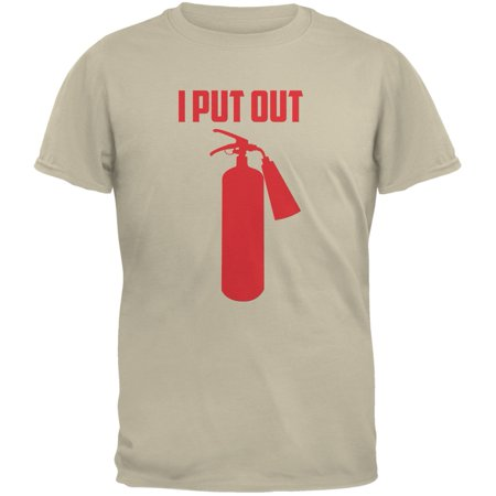 I Put Out Fire Extinguisher Sand Adult T-Shirt