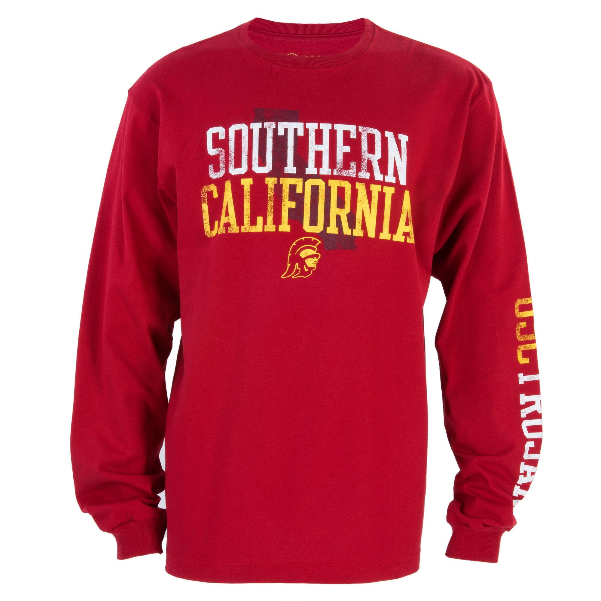 NCAA USC Trojans Big Men's Cali Time Long Sleeve Tee, 2XL