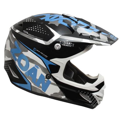ZOAN 021-519 MX-1 O/f Helmet - Sniper, Blue - 3xl