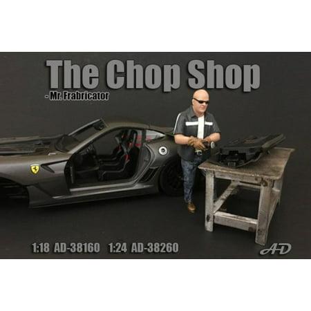 The Chop Shop Mr. Fabricator Figure, American Diorama 38260 - 1/24 Scale Accessory for Diecast Cars - Skylanders Chop Chop