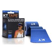 KT TAPE Original, Pre-cut, 20 Strip, Cotton - Blue