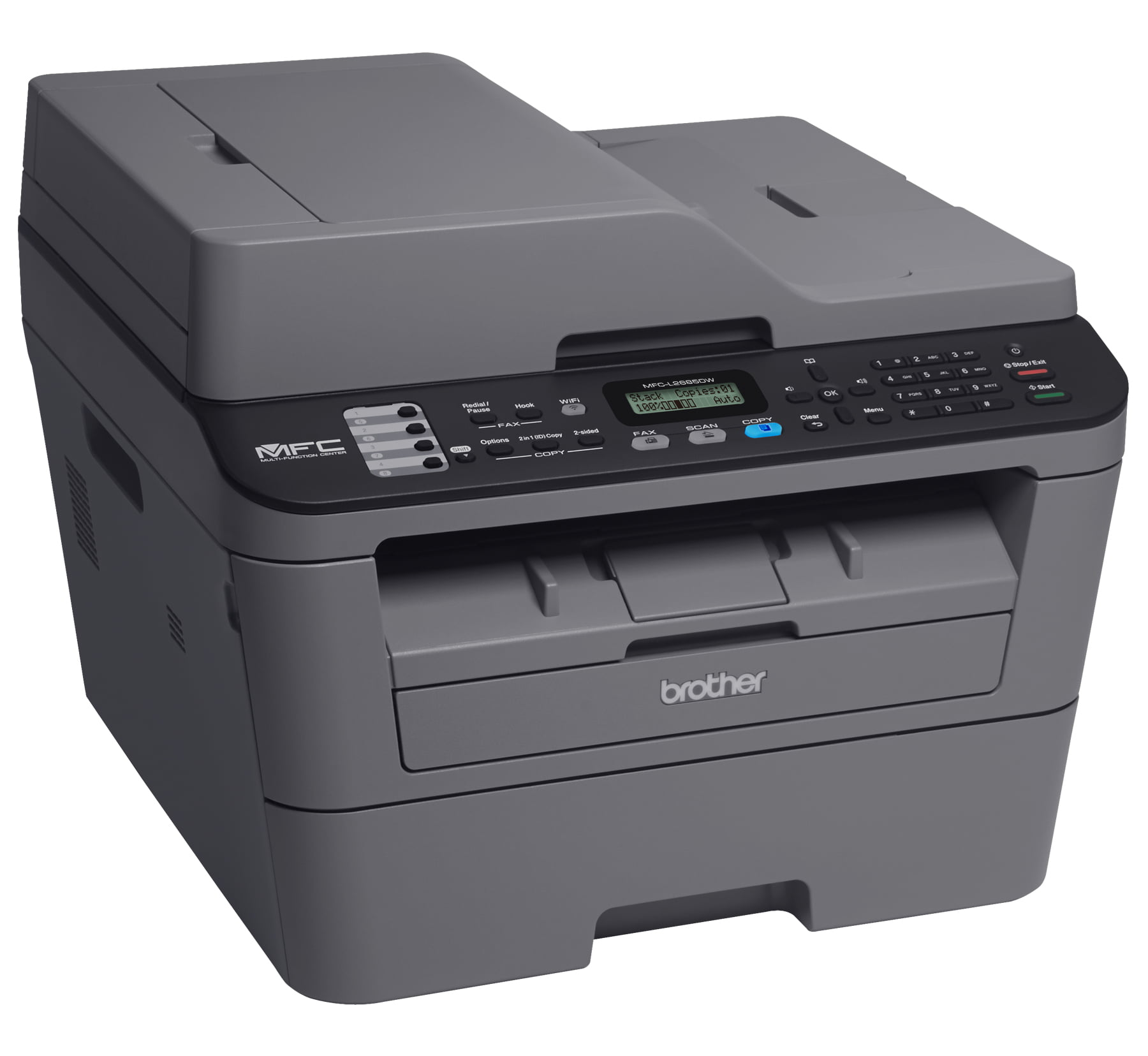 Brother Compact Monochrome All-in-One Laser Printer, MFC-L2685DW