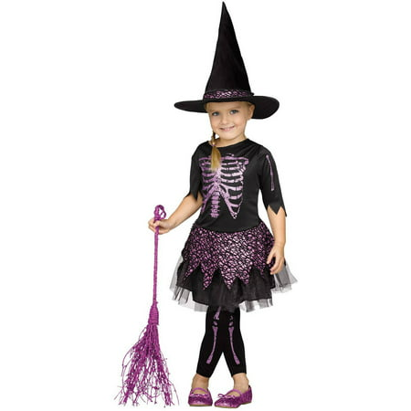 Skele-Witch Toddler Halloween Costume - Witch Halloween Costume Toddler