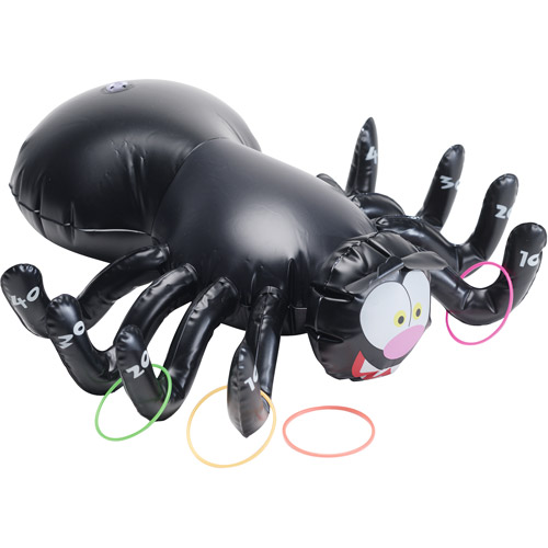 Inflatable Halloween Spider Ring Toss Game