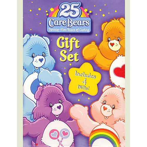 Care Bears 25th Anniversary 4 Dvd Gift Set by LIONSGATE