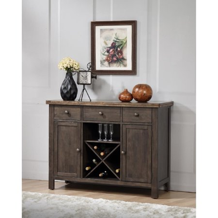 Chelsea Home Furniture Victor Two-tone 3-drawer - Chelsea Server