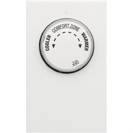 Lv21-005 Double Pole Line Voltage Heat Only Manual Thermostat (Bblv2-005l) ()