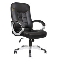 Iuhan Office Chair Leather Desk Gaming Chair With Adjust Seat Height
