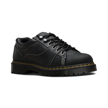Dr. Martens Women's Mellows Padded Collar Fashion Oxford Shoes Black  Leather 4 M UK 6