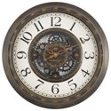 "Mainstays 15.5"" Gear Wall Clock"