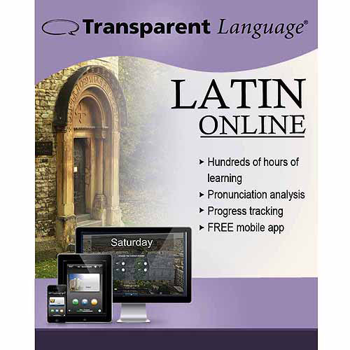 Transparent Language Online Latin (12 Month) (Digital Code)