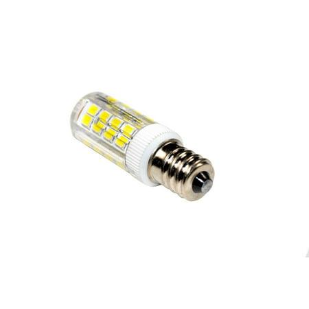 HQRP 2-Pack E12 110V LED Light Bulb Cool White for Husqvarna Viking Huskystar E20 / 431 / 435 / 440 / 444 / 535D Sewing Machine + HQRP Coaster - image 3 de 5