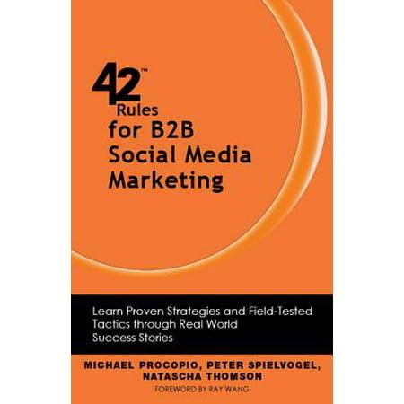 42 Rules for B2B Social Media Marketing - eBook