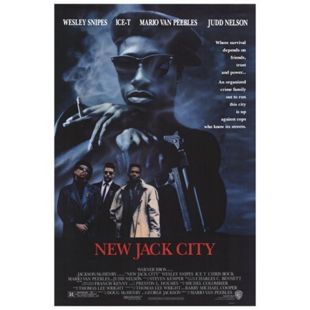 New Jack City Movie Poster Print (27 x 40) (Party City Coupons 40 Off)