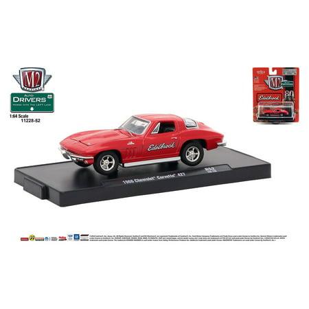 M2 Machines Auto-Drivers 1:64 R52 1966 Chevrolet Corvette 427 (Edelbrock)