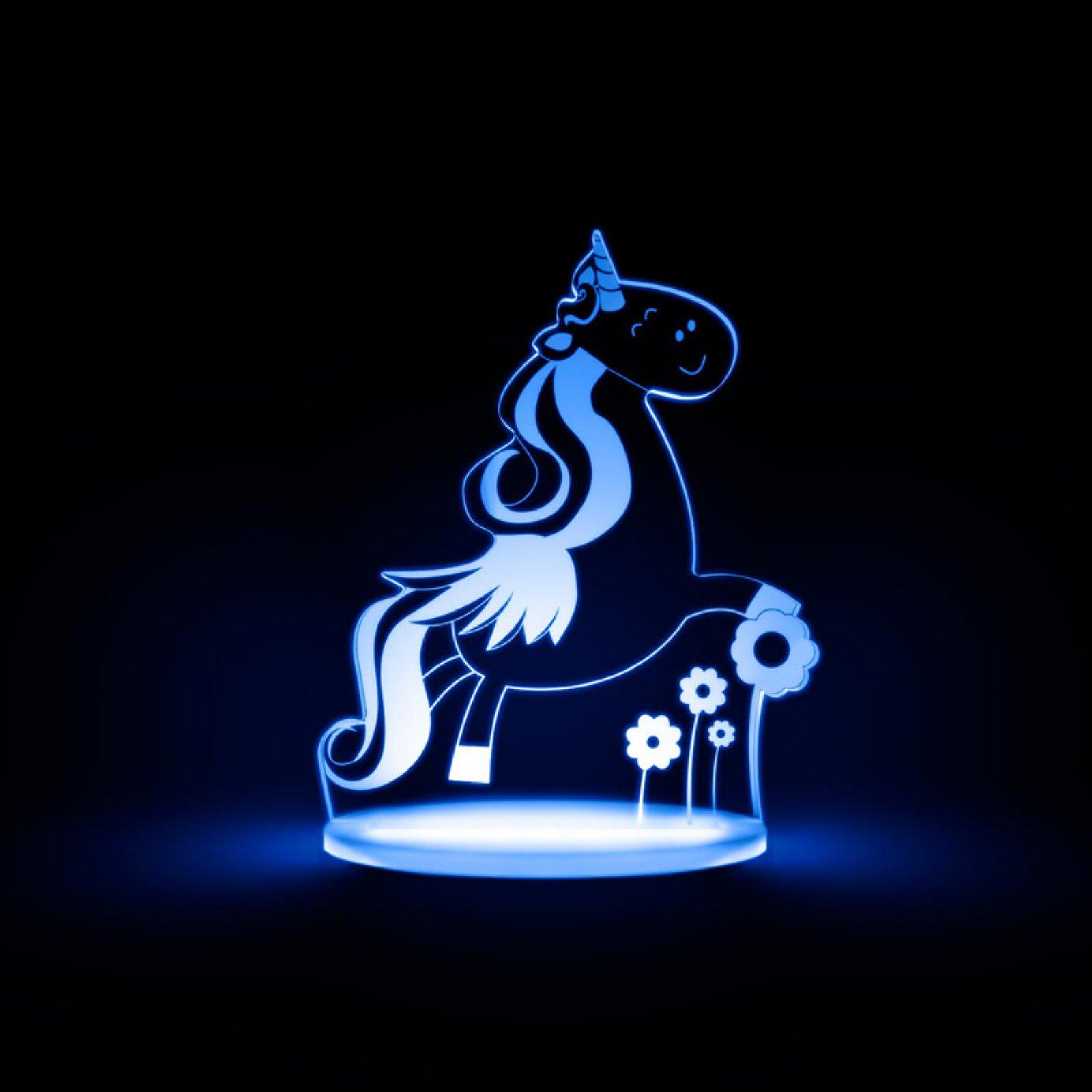 Total Dreamz Unicorn Multicolored LED Night Light