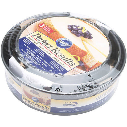 """Wilton Perfect Results 8"""", 9"""", 10"""" Springform Cake Pans, 3 ct. 2105-6808"""