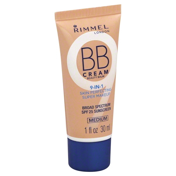 Rimmel BB Cream Beauty Balm, Medium, 1 fl oz