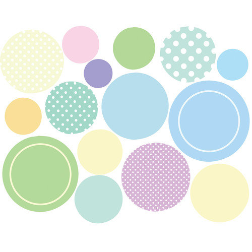 Wallies Baby Dots Wall Decal (Set of 2)