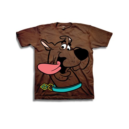 Scooby Doo Boys' Classic Character Face Short Sleeve Graphic - Scooby Doo Birthday Supplies