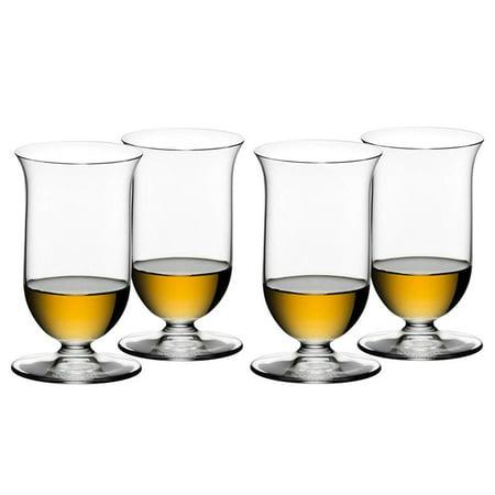 Riedel Vinum Leaded Crystal Single Malt Whiskey Glass, Set of (Riedel Whiskey Glass)