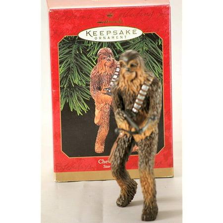 chewbacca star wars 1999 hallmark keepsake christmas ornament qxi4009 - Chewbacca Christmas Ornament